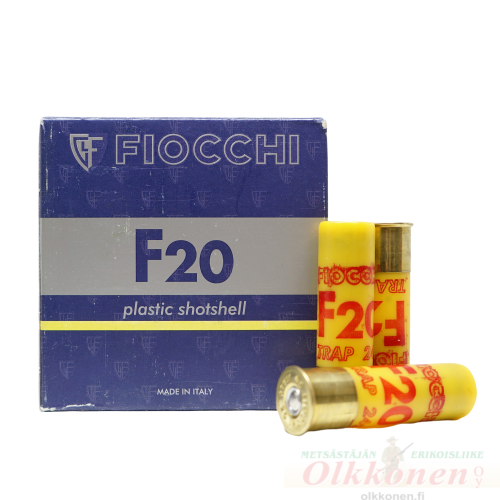Fiocchi 20/70 Trap patruuna 2,4mm 24g 25kpl/rs