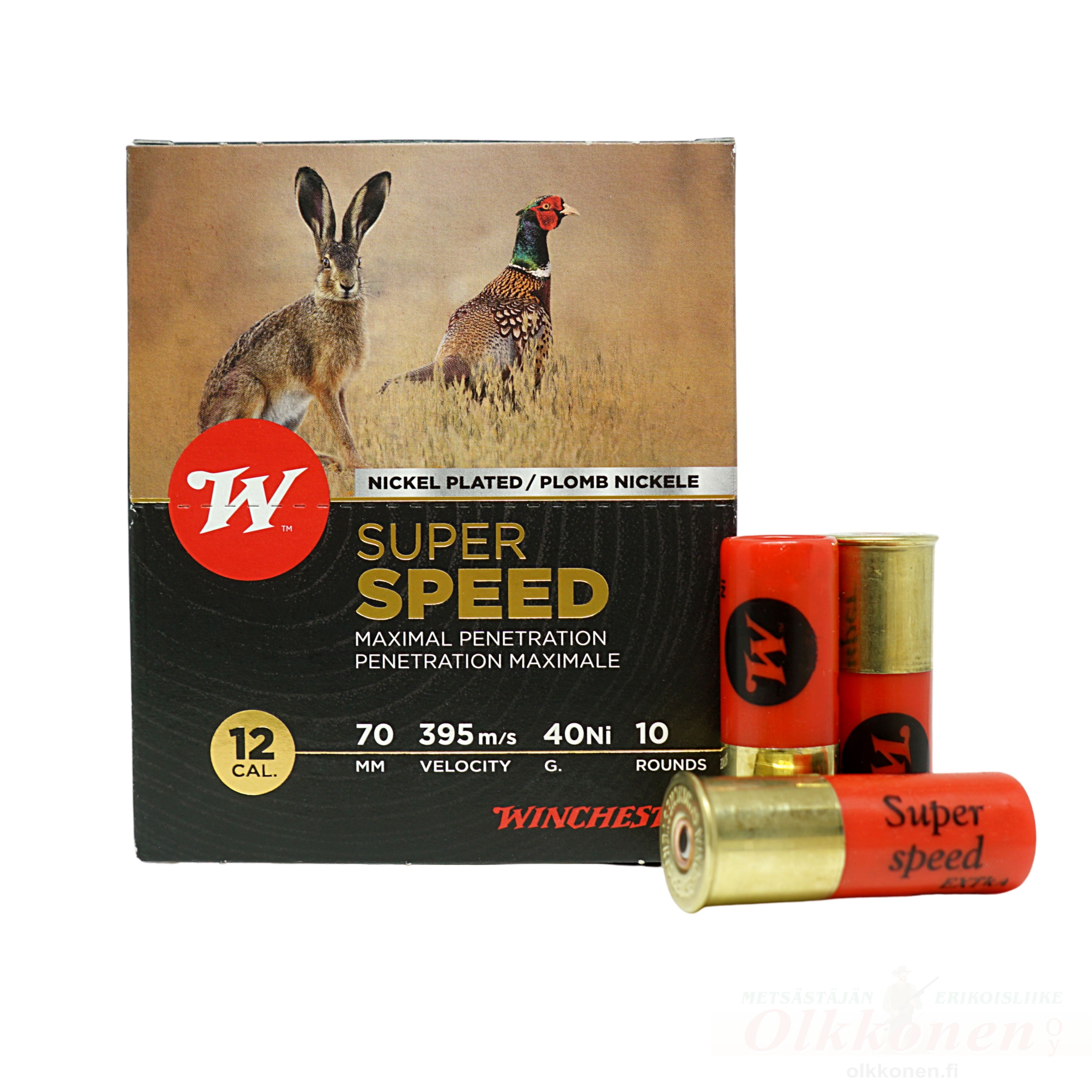 Winchester Super Speed Extra 12/70 40g