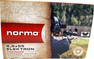 Norma Jaktmatch 6,5x55 6,5g/100 HP 50 kpl / rs