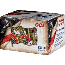 CCI .22 LR Patriot Pack 376 m/s 2,60g 300kpl/ltk