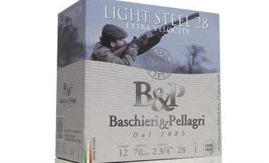 B&P Valle Light Steel 28g 12/70 teräs 435m/s 25kpl/rs