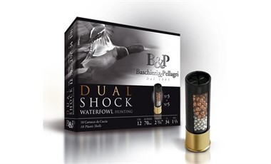 B&P Dual Shock 34 g 12/70  nro 5+3  2,9mm/3,3mm