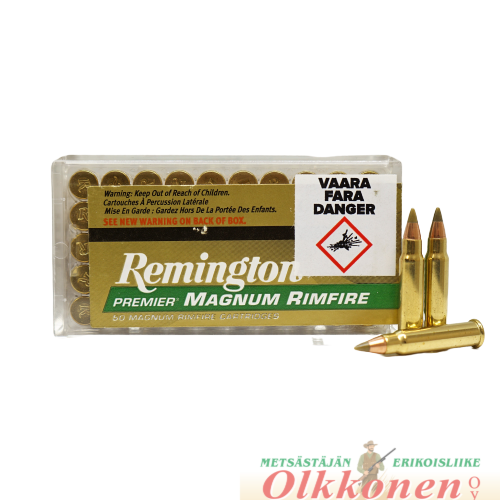 Remington .17 HMR Accutip-V BT patruuna 17gr 50 kpl / rs