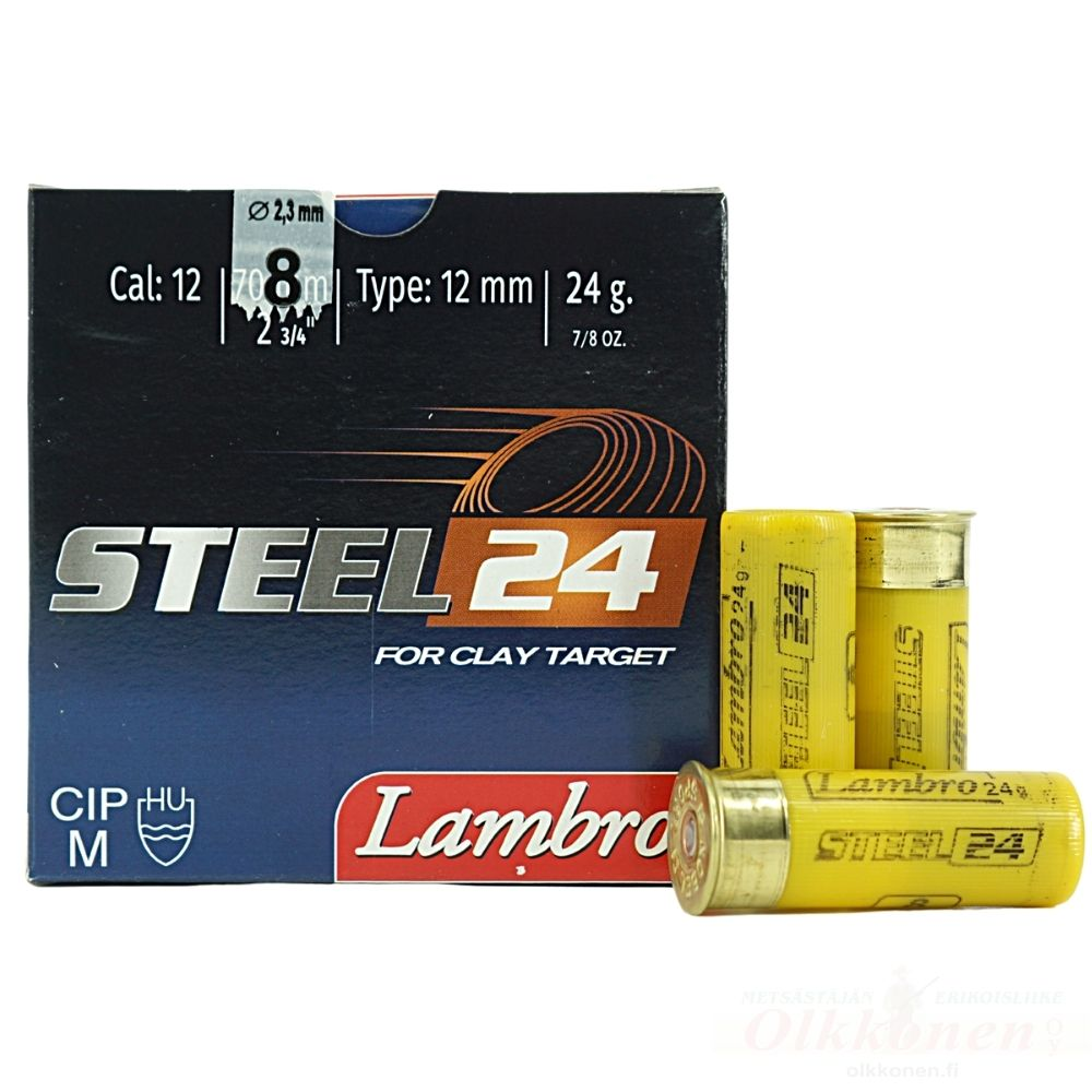 Lambro Steel 12/70 24g 2,3mm 25 kpl/rs