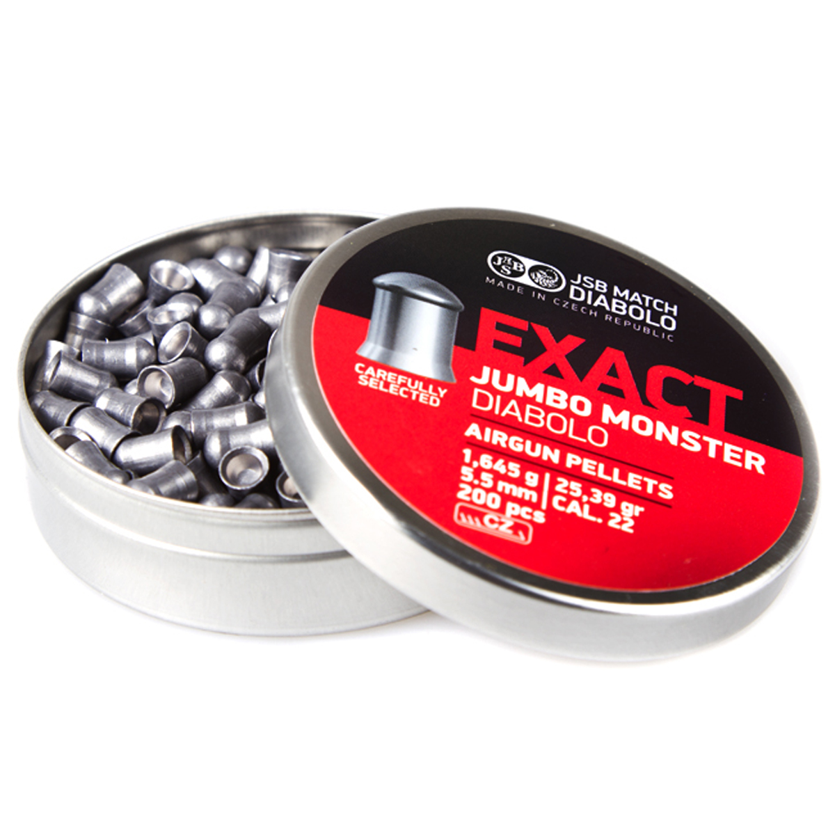 JSB Jumbo Exact monster 5,52mm 1,645g 200kpl/rs