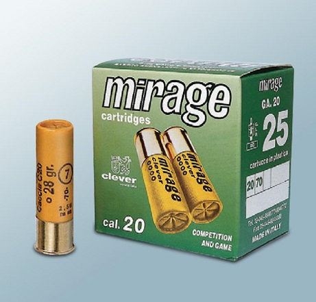 Mirage 20/76 T3 nro 0 3,9mm 25kpl/rs 36g haulilataus