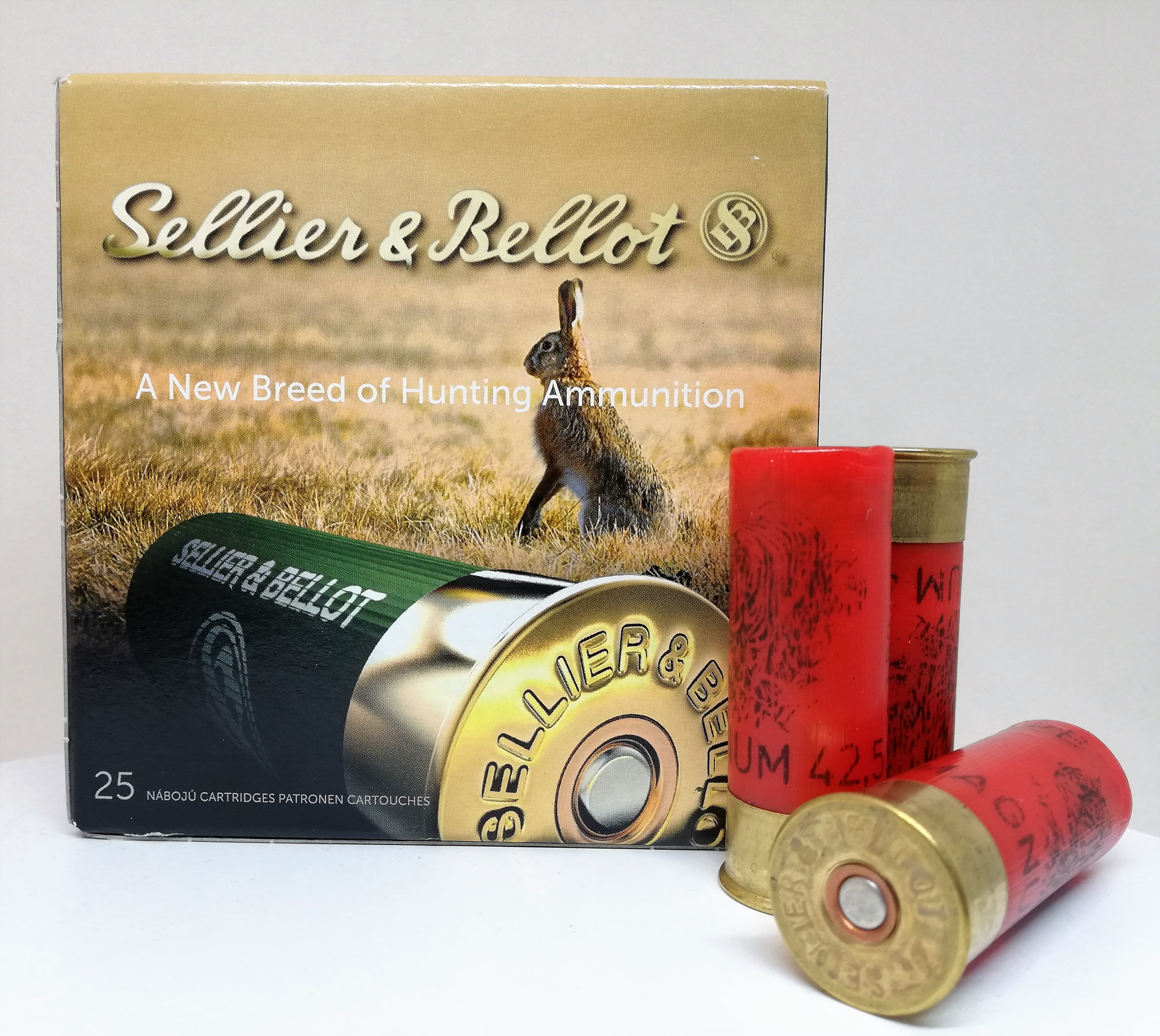 Sellier & Bellot Mini Magnum 12/70 42,5g 25kpl/rs.