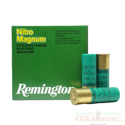 Remington Nitro Magnum 12/76 / 52 g nro 4 3,3mm 369m/sek