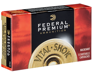 Federal Buck 12/76  6,1mm Premium P1584B 5kpl/rs