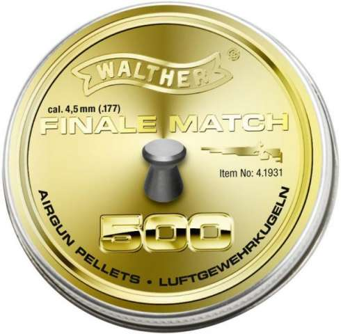 Walther Finale Rifle Match  4,50mm  0,53g