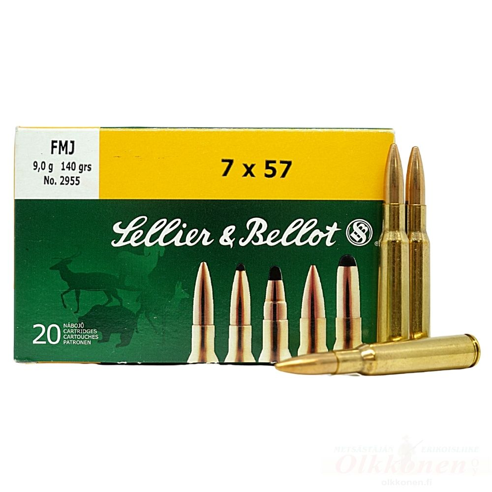 Sellier & Bellot 7X57 9,0g FMJ