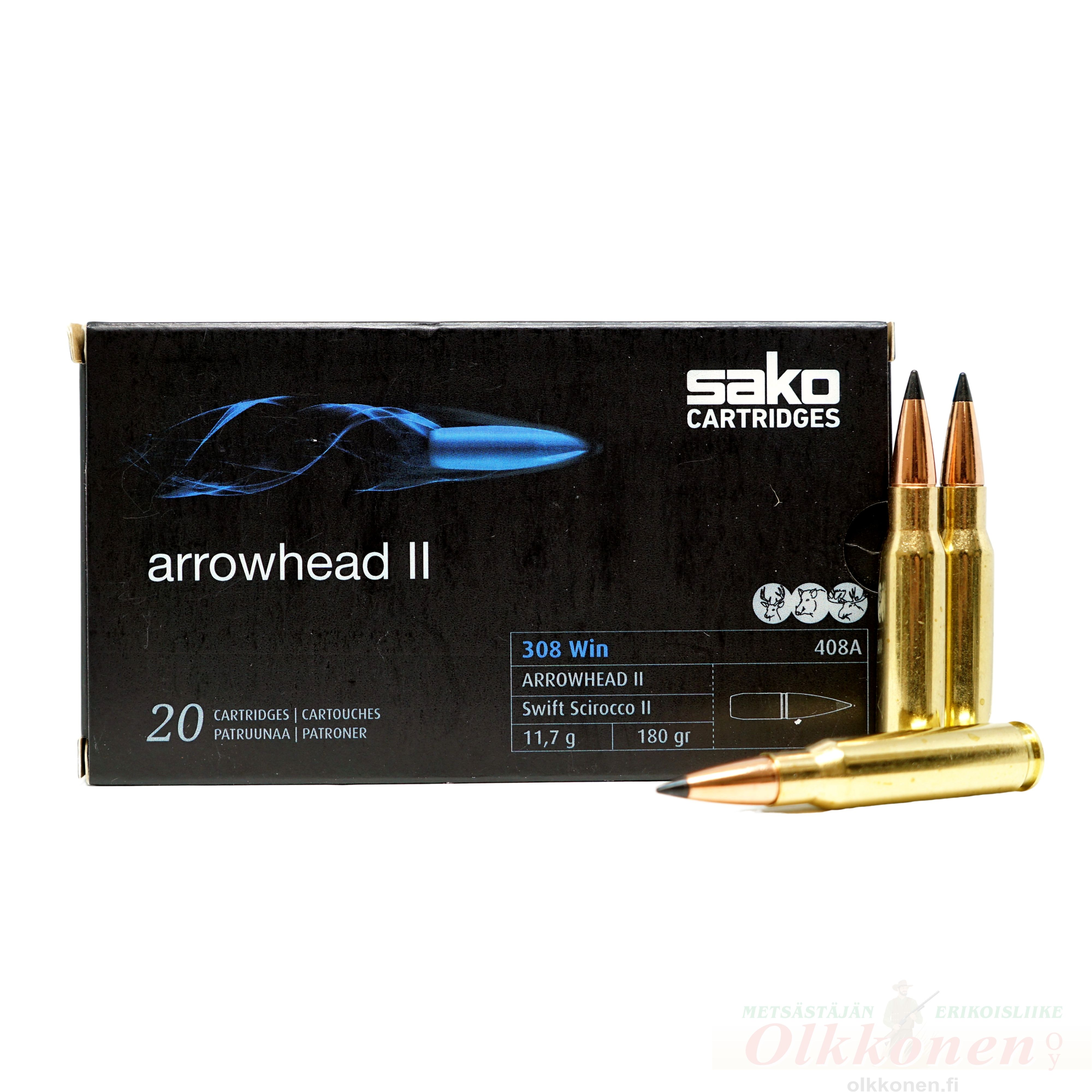 Sako Arrowhead II  .308 Win  11,7g  20kpl/rs