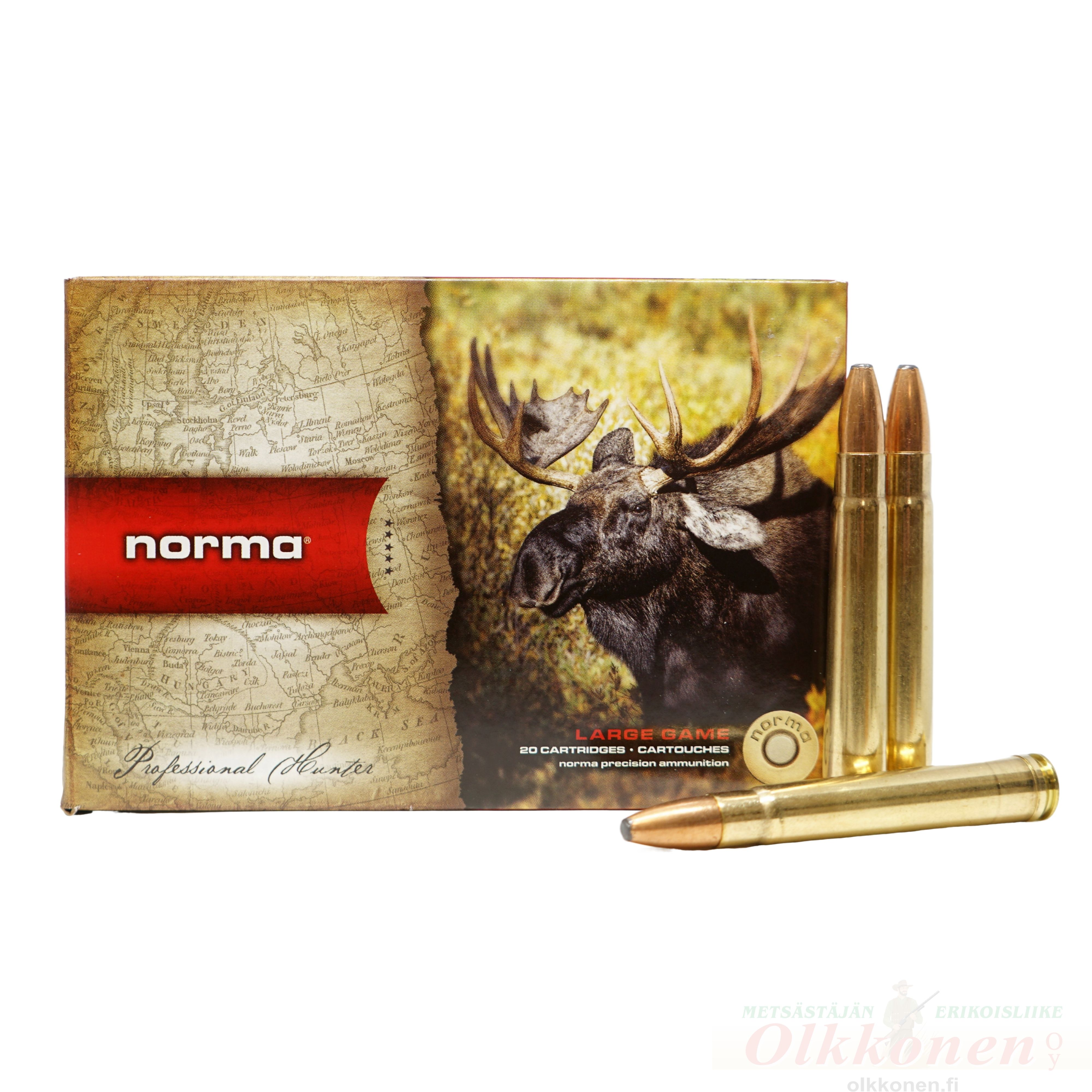 Norma .375 H&H Mag Oryx 19,4g 20 kpl/rs