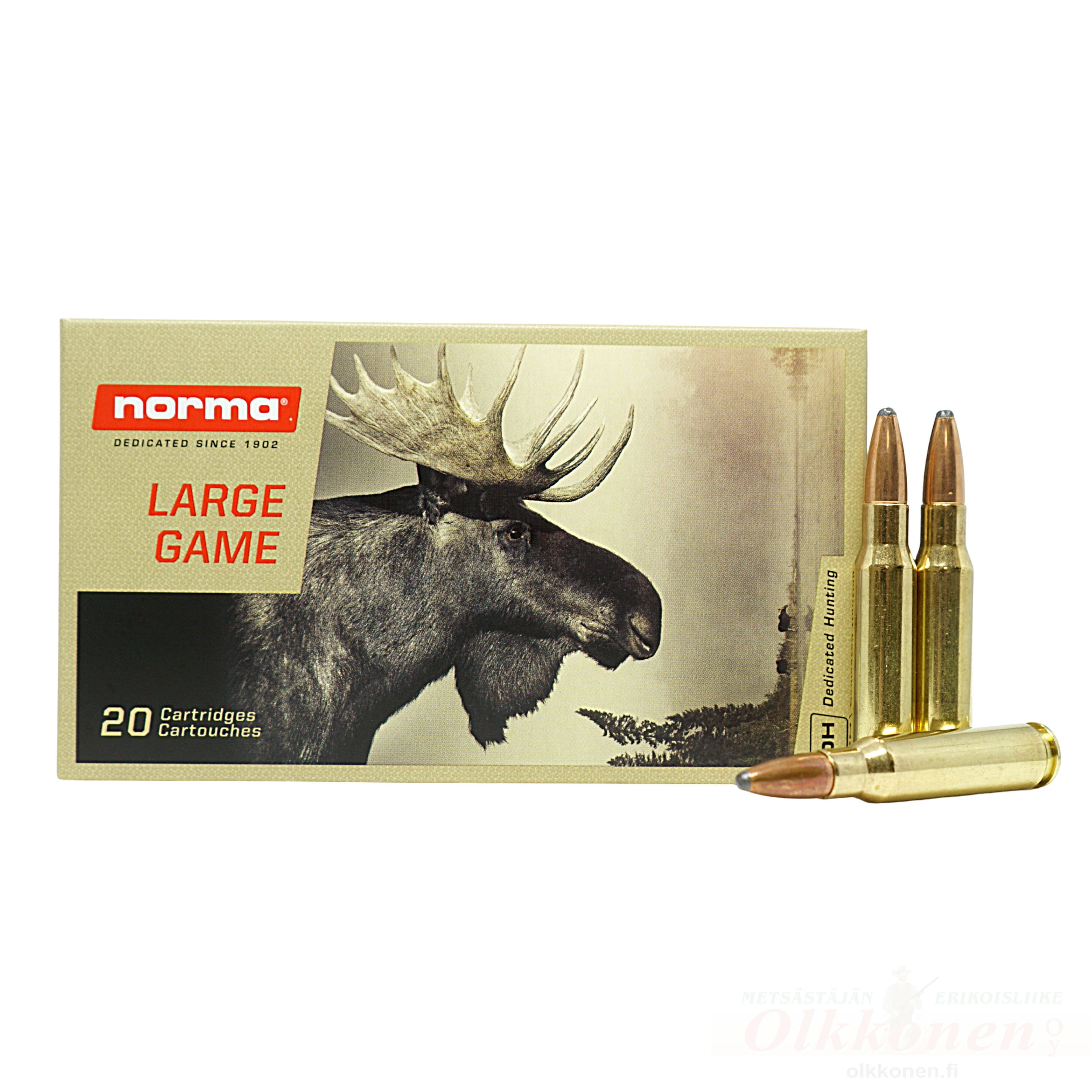 Norma .308 Win  Oryx 11,7g SP 20 kpl / rs