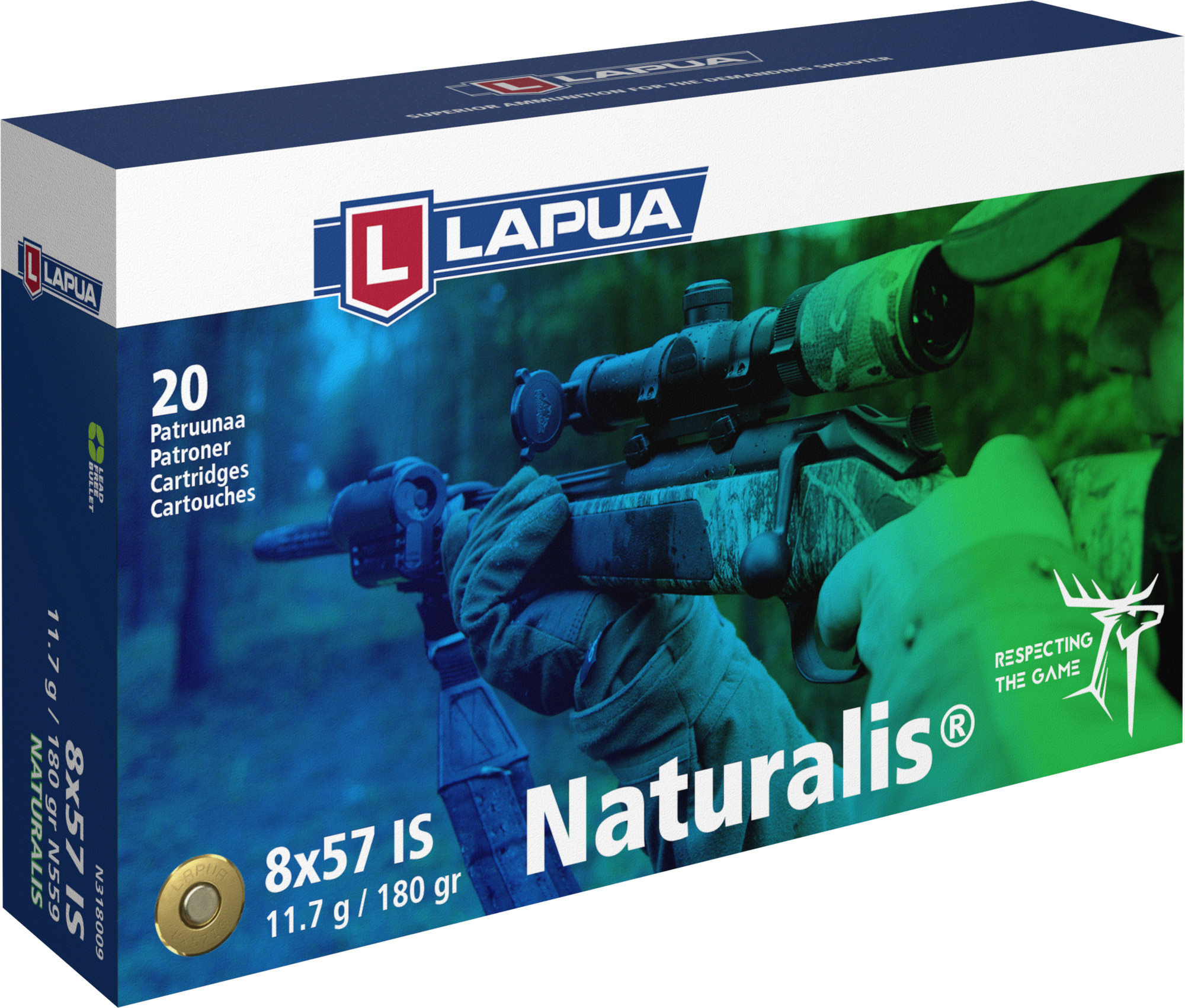 Lapua 8x57 IS 11,7g Naturalis  N559