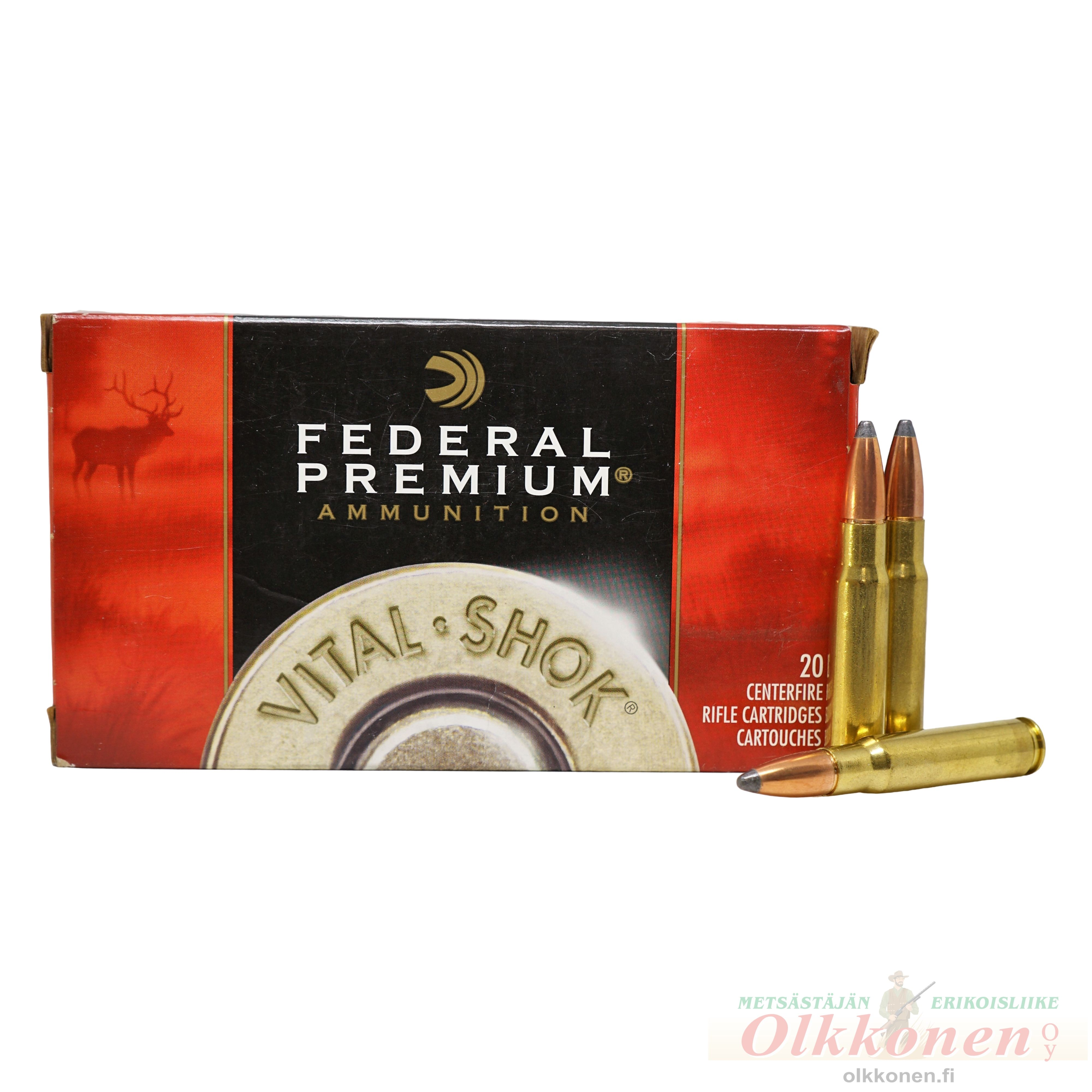 338 Federal Nosler Partition 13,7g Premium P338FB